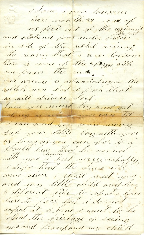 Mitchell Family Civil War Letters (p. 19)