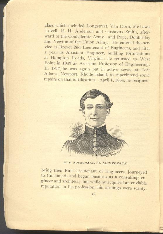 Major-General William Stark Rosecrans (p. 16)
