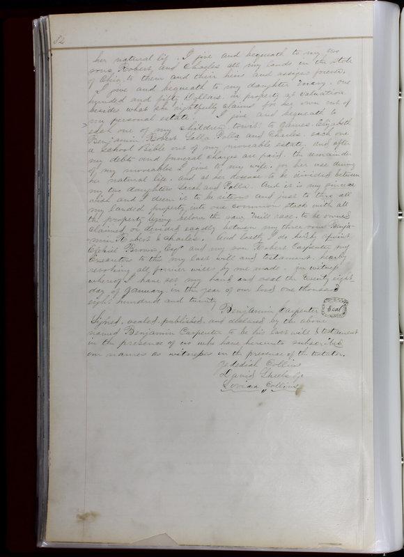 Delaware County Ohio Will Records Vol. 1 1812-1835 (p. 66)