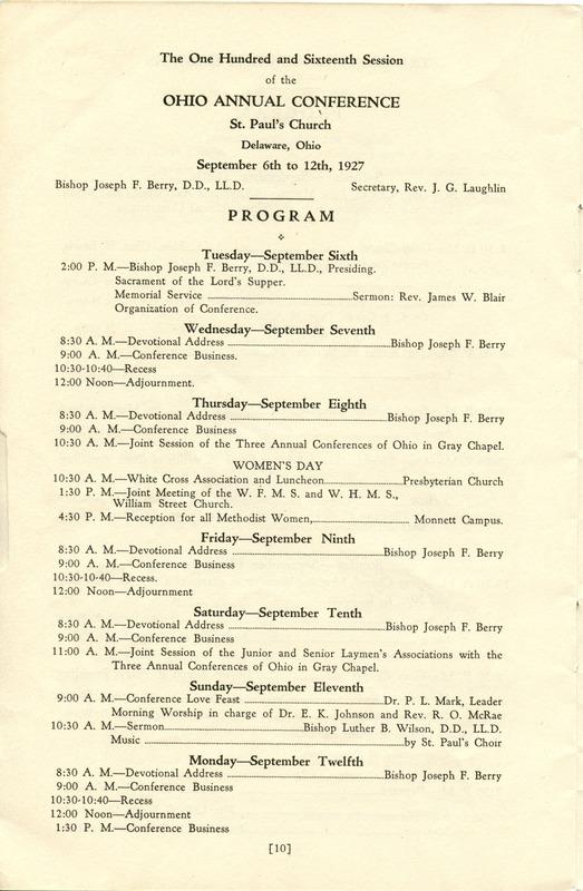 Tri-Conference Program (p. 12)