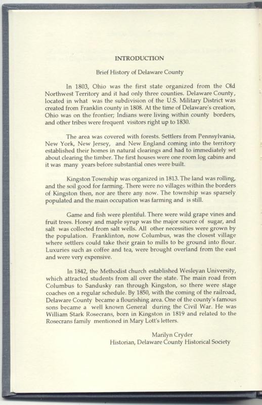 Life on the Ohio Frontier (p. 20)