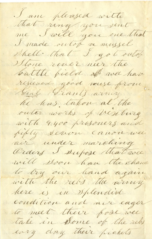 Mitchell Family Civil War Letters (p. 41)
