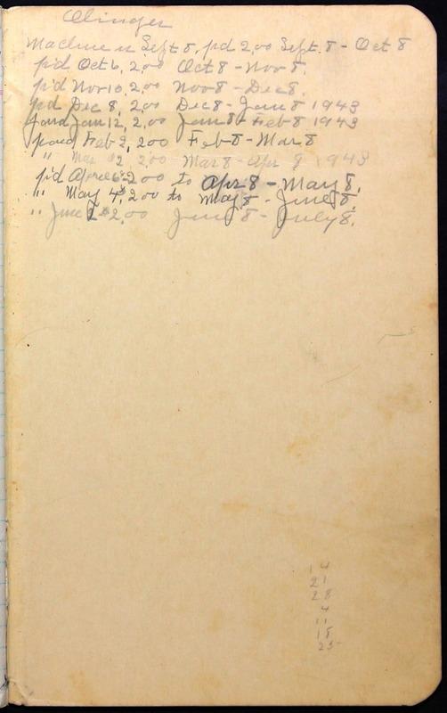 Roberta Hopkins' Journal 1941-1943 (p. 63)
