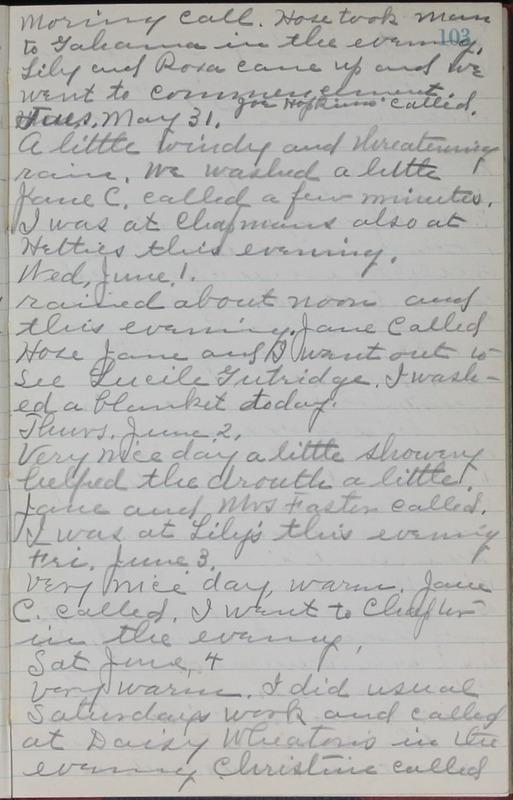 Roberta Hopkins' Journal, 1931-1933 (p. 106)