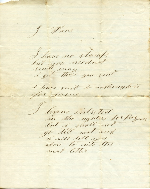 Mitchell Family Civil War Letters (p. 15)