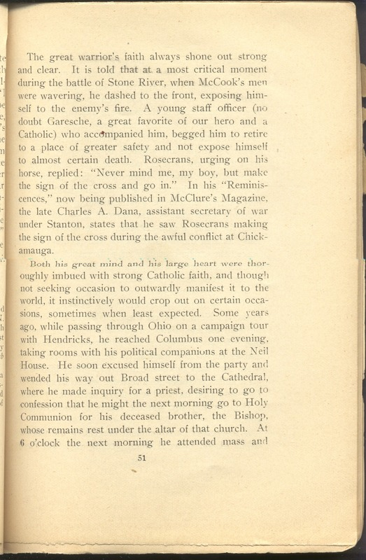 Major-General William Stark Rosecrans (p. 55)
