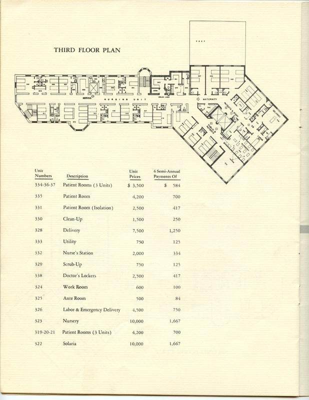 The Jane M. Case Hospital Building Campaign (p. 13)
