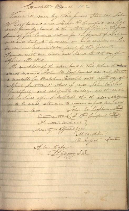 Record Book of Berkshire Township No. 2 1807-1843 (p. 115)