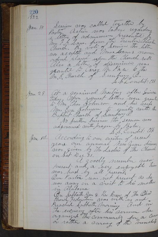 Sessional Records of the 1st Presbyterian Church of Trenton Delaware County Ohio 1873-1937 (p. 208)
