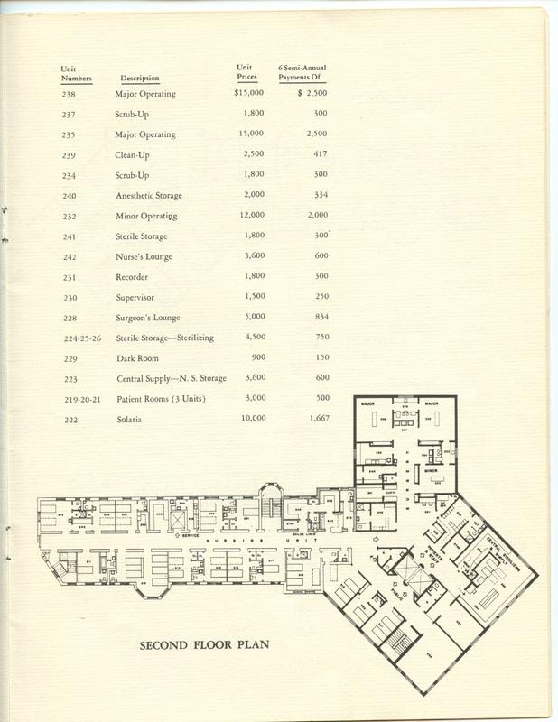 The Jane M. Case Hospital Building Campaign (p. 12)
