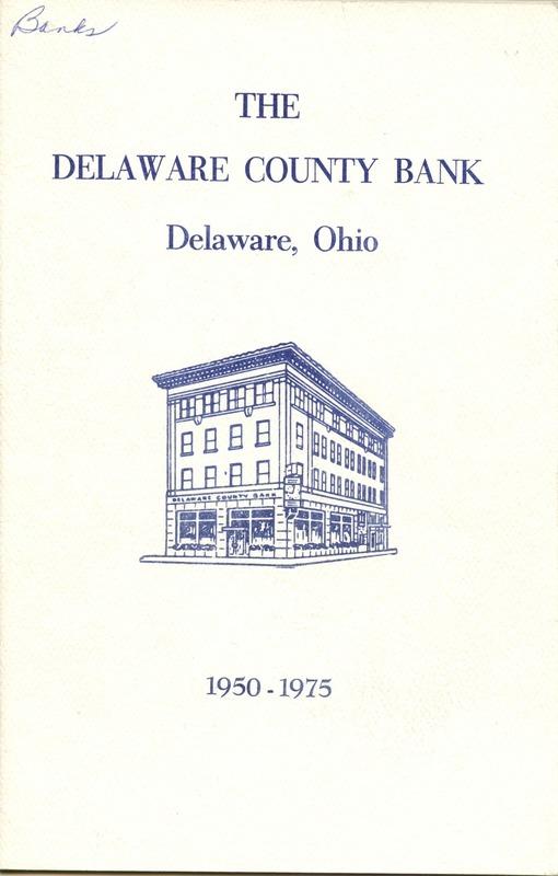 Delaware County Bank 1950-1975 (p. 1)