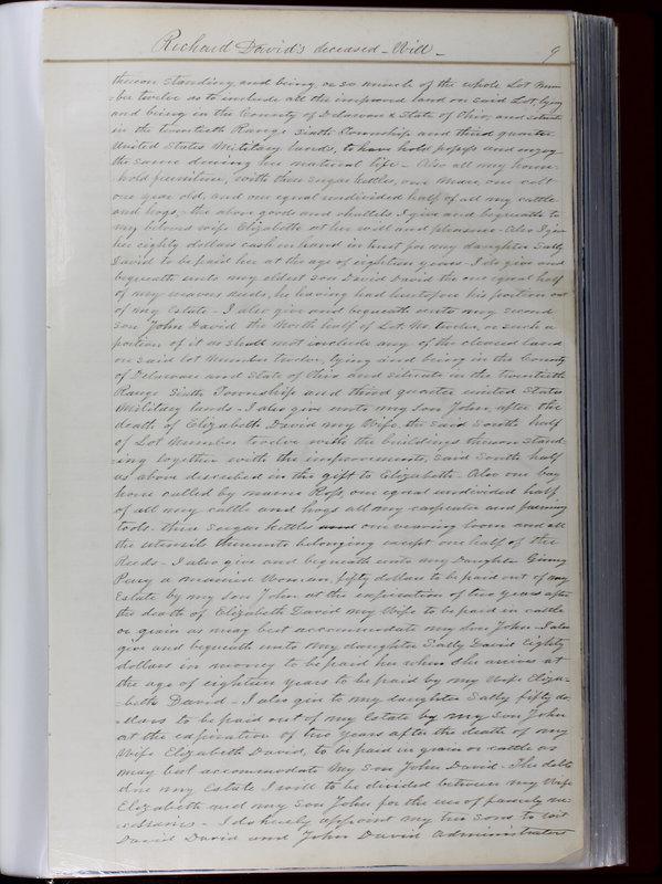 Delaware County Ohio Will Records Vol. 1 1812-1835 (p. 41)