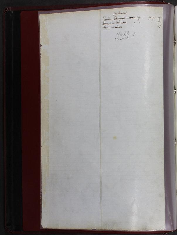 Delaware County Ohio Will Records Vol. 1 1812-1835 (p. 6)