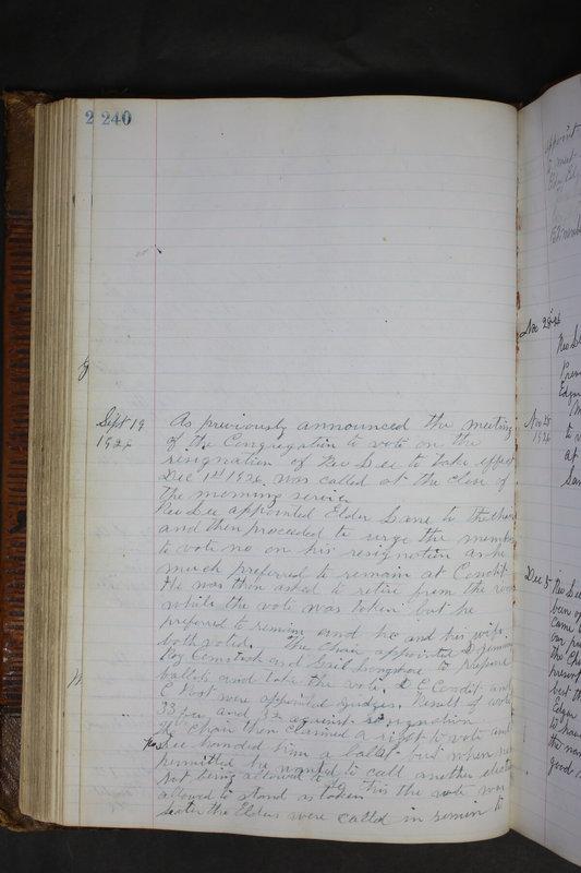 Sessional Records of the 1st Presbyterian Church of Trenton Delaware County Ohio 1873-1937 (p. 228)