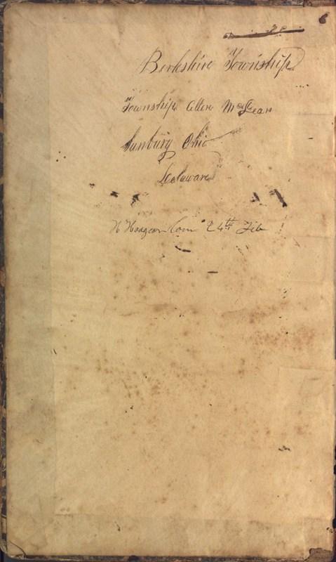 Record Book of Berkshire Township No. 2 1807-1843 (p. 2)