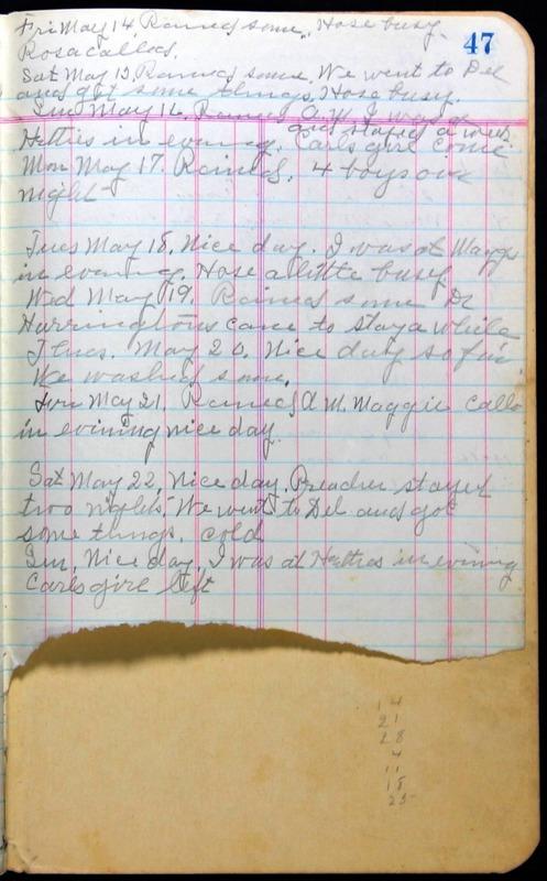 Roberta Hopkins' Journal 1941-1943 (p. 61)