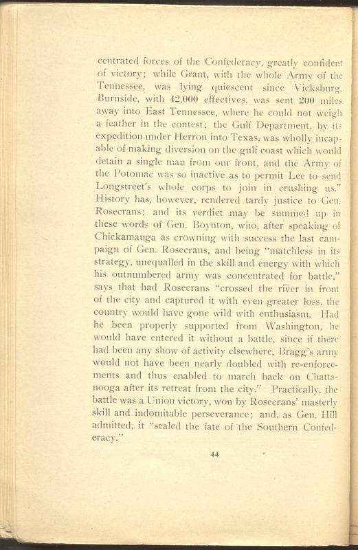 Major-General William Stark Rosecrans (p. 48)