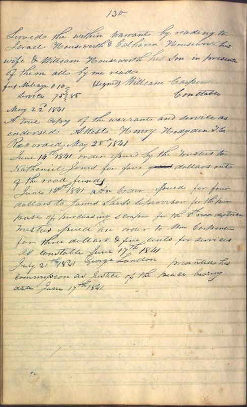 Record Book of Berkshire Township No. 2 1807-1843 (p. 144)