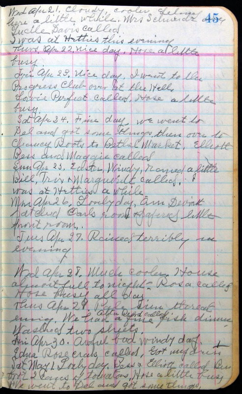 Roberta Hopkins' Journal 1941-1943 (p. 59)