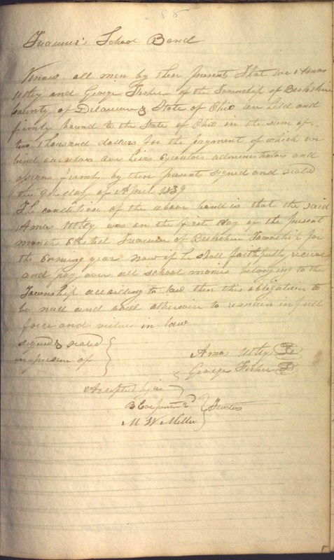 Record Book of Berkshire Township No. 2 1807-1843 (p. 101)