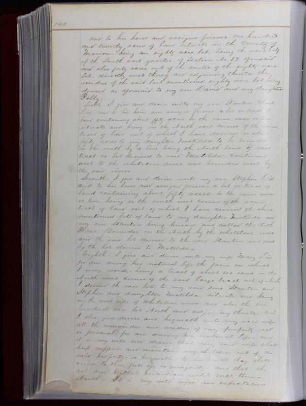 Delaware County Ohio Will Records Vol. 1 1812-1835 (p. 172)