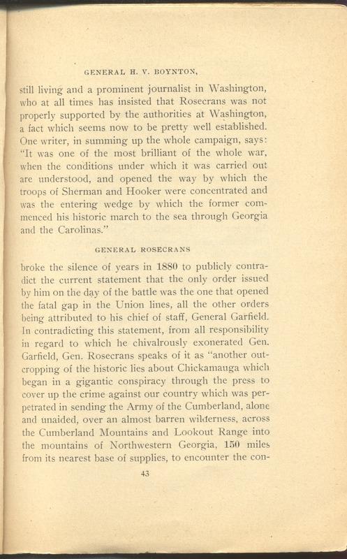 Major-General William Stark Rosecrans (p. 47)