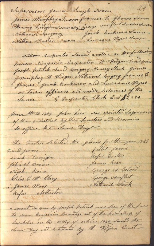 Record Book of Berkshire Township No. 2 1807-1843 (p. 37)