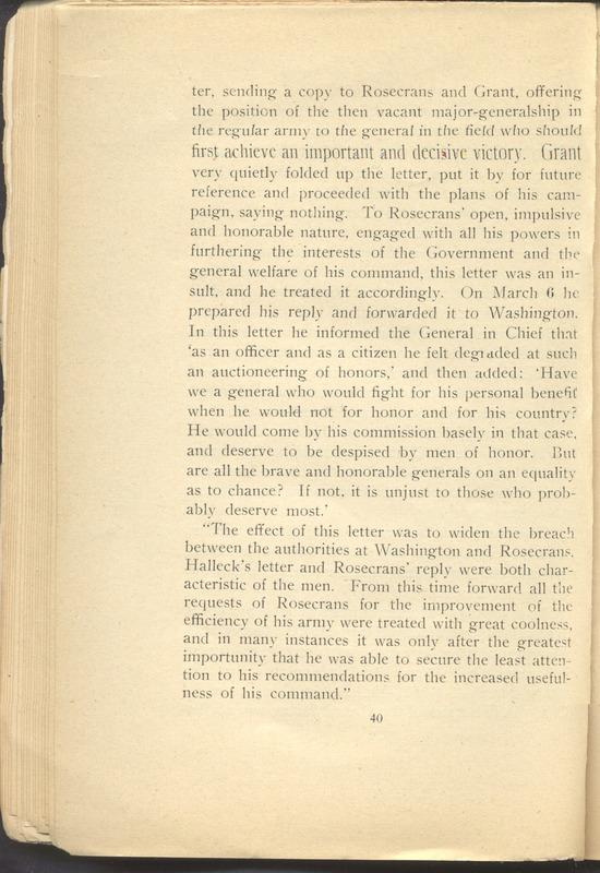 Major-General William Stark Rosecrans (p. 44)