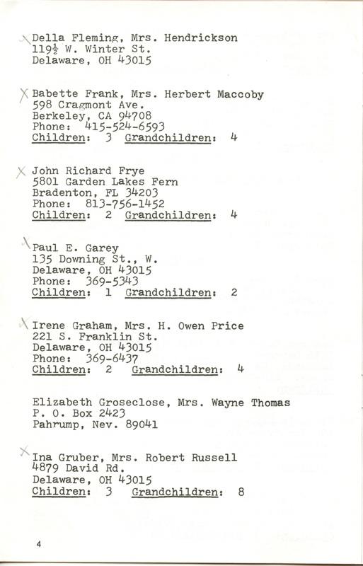 Willis High School Class of 1940 50th Reunion (p. 6)