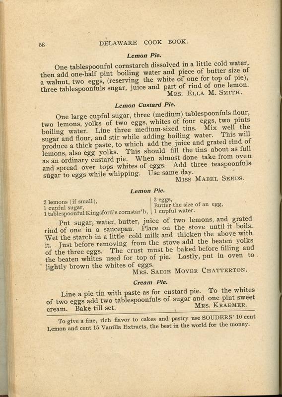 Delaware Cook Book (p. 63)