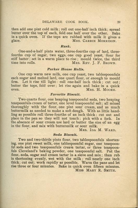 Delaware Cook Book (p. 34)