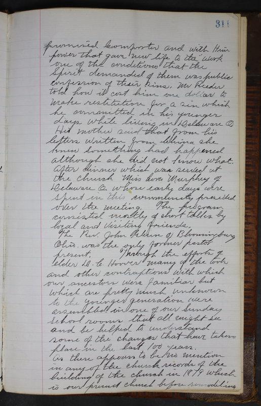 Sessional Records of the 1st Presbyterian Church of Trenton Delaware County Ohio 1873-1937 (p. 298)