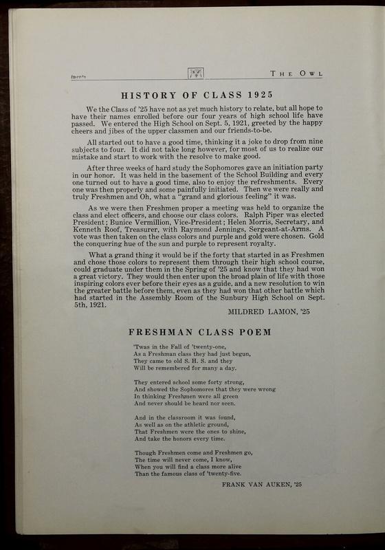 The Owl, Vol. II, 1922 (p.22)