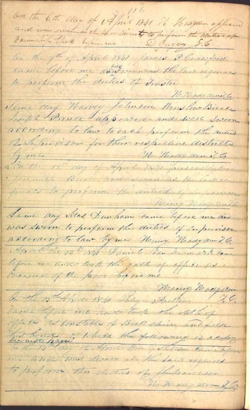 Record Book of Berkshire Township No. 2 1807-1843 (p. 130)