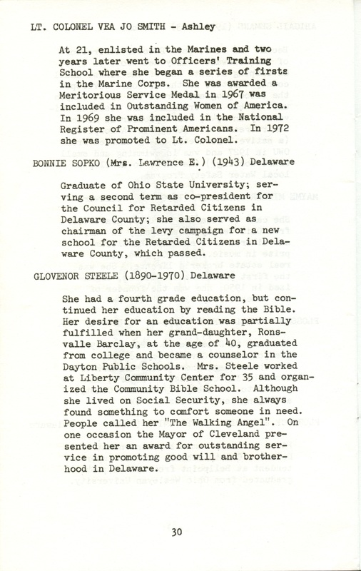 Some Delaware County Women Past and Present (p. 35)