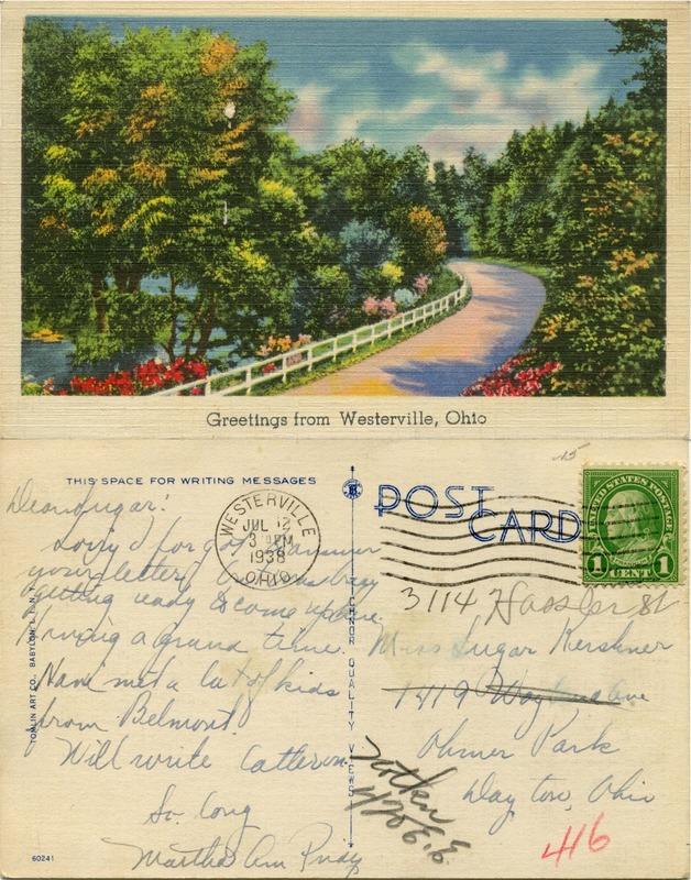John Bricker Sr.'s Postcard Collection (p. 129)
