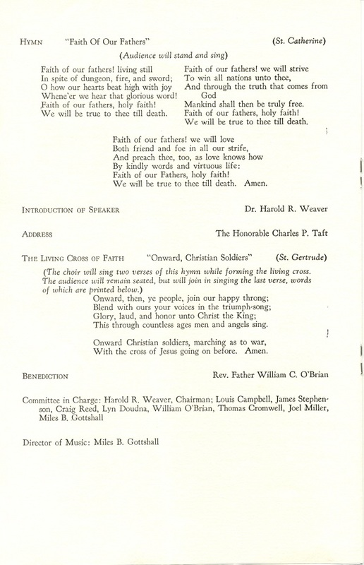 Religious Heritage Program of the Sesquicentennial Celebration of the County of Delaware, Ohio (p. 4)