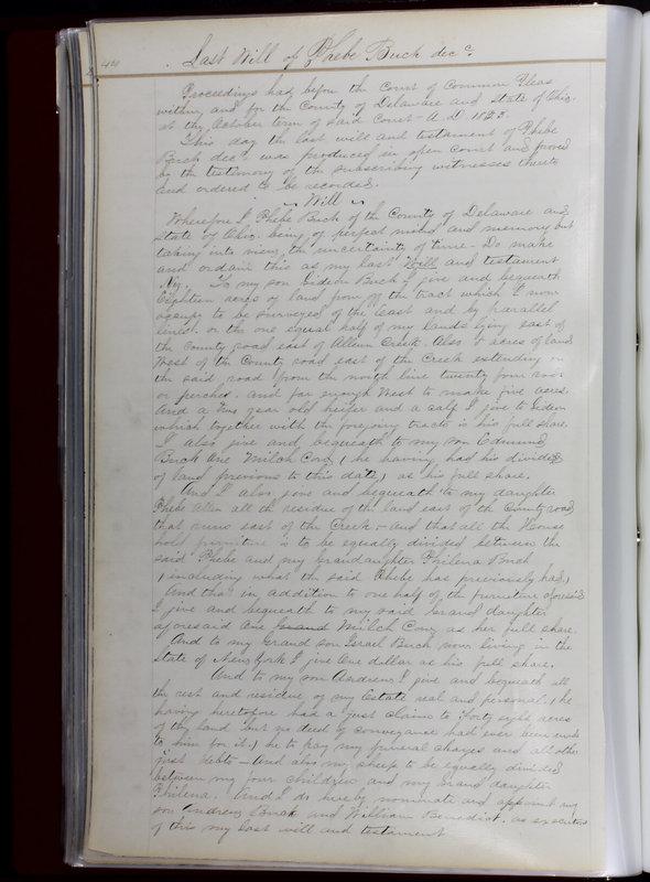 Delaware County Ohio Will Records Vol. 1 1812-1835 (p. 76)