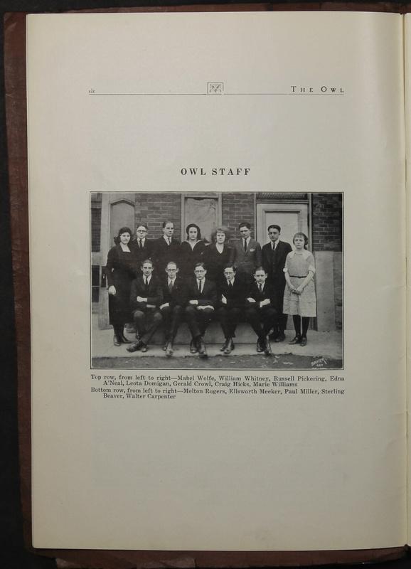 The Owl, Vol. II, 1922 (p.8)