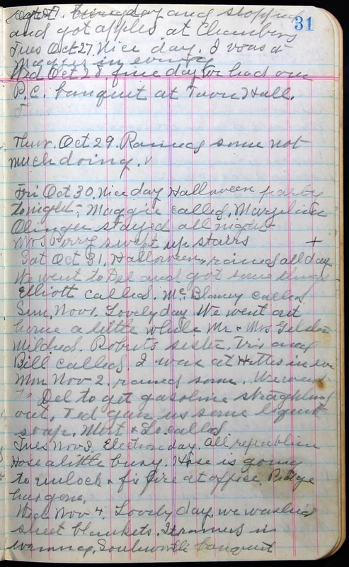 Roberta Hopkins' Journal 1941-1943 (p. 45)