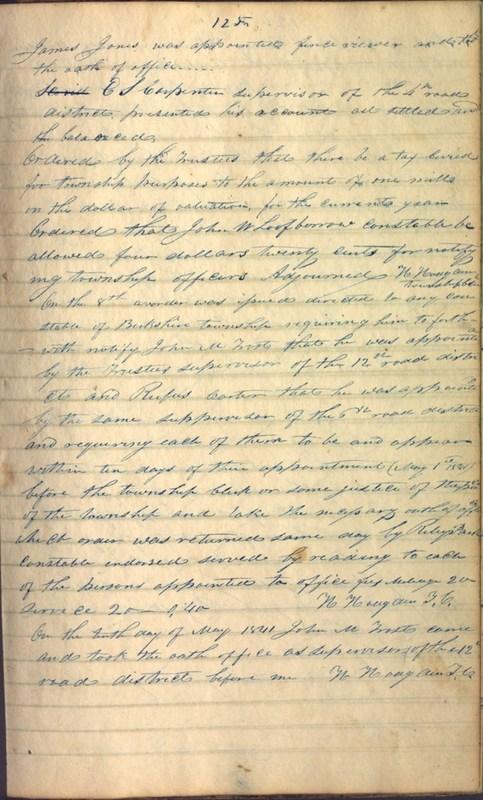 Record Book of Berkshire Township No. 2 1807-1843 (p. 139)