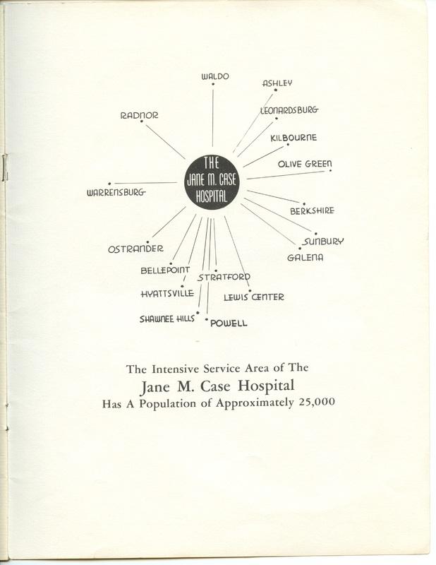 The Jane M. Case Hospital Building Campaign (p. 18)