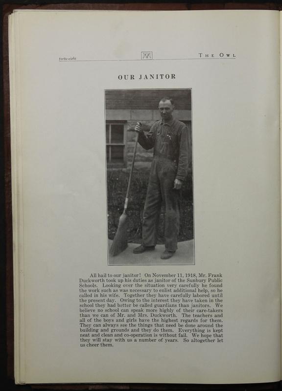 The Owl, Vol. II, 1922 (p.50)