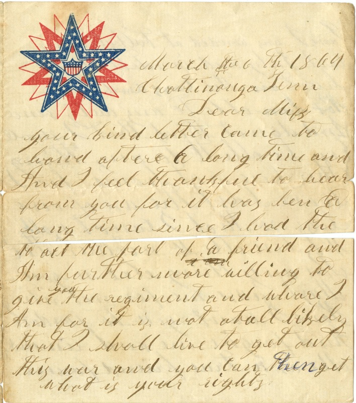 Mitchell Family Civil War Letters (p. 26)