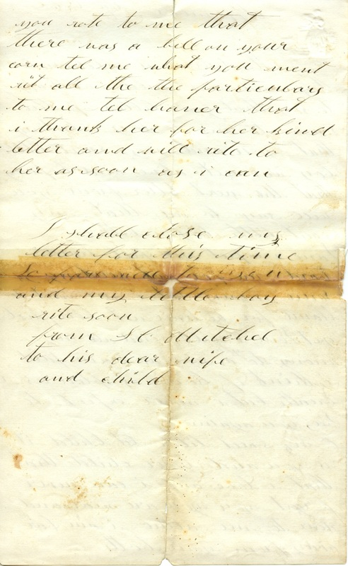 Mitchell Family Civil War Letters (p. 20)