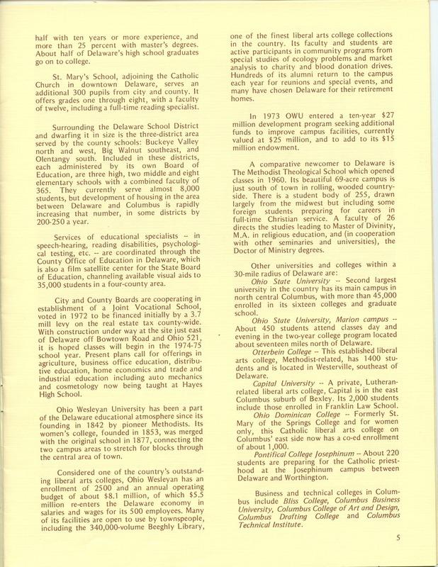 Welcome to Delaware, Ohio (1973) (p. 7)