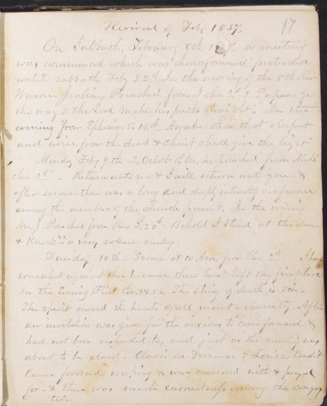 Sessional Records of the 1st Presbyterian Church of Trenton, Delaware Co., Ohio, 1831 (p. 23)