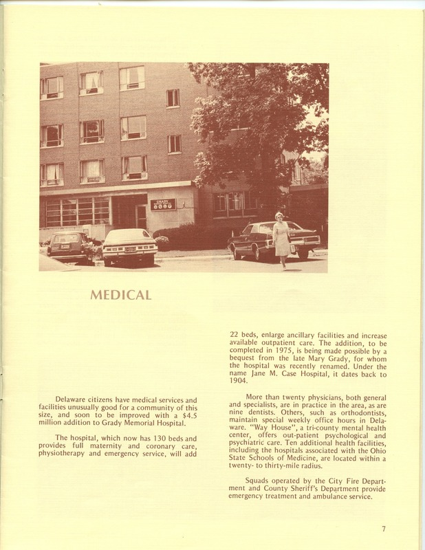 Welcome to Delaware, Ohio (1973) (p. 9)