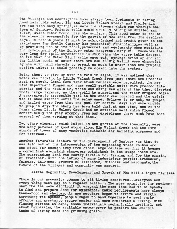 Early Delaware County Sunbury and Community (p. 3)