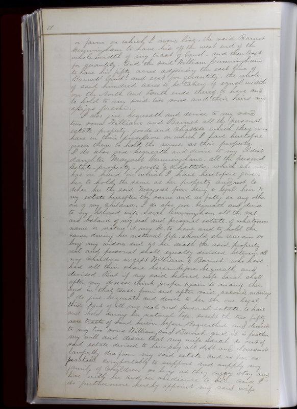 Delaware County Ohio Will Records Vol. 1 1812-1835 (p. 90)